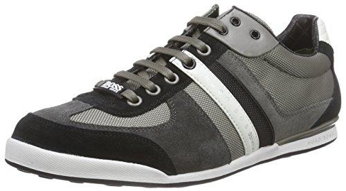 BOSS Herren Akeen Sneaker, Grau (Medium Grey 030), 44 EU