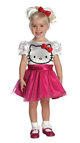 Hello Kitty Tutu Disfraz Disfraz para niña (Niño pequeño (1-2 años))