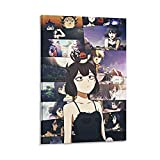 ZHYU Póster de anime con diseño de trébol negro y cola de golondrina Secre Swallowtail - Cuadro decorativo moderno para dormitorio familiar (60 x 90 cm)