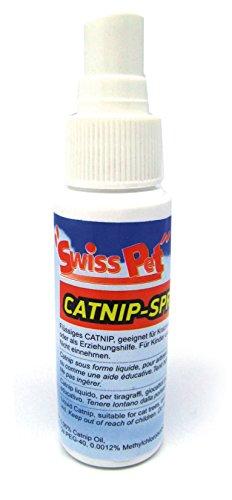 SwissPet Catnip Spray 30 ml für Katzen I flüssige Katzenminze I für Katzenspielzeug