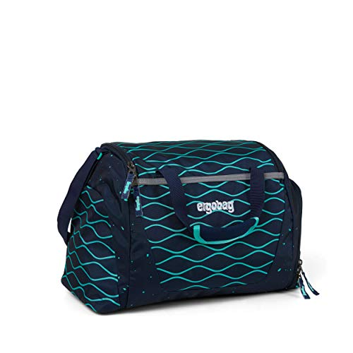 ergobag Unisex-Kinder Duffel Bag Tasche Mehrfarbig (Bubblebear)