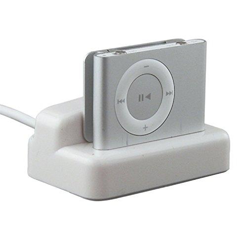Romote Bargaincell HotSync Mediante la Base de Carga USB del Muelle del Cargador de Escritorio para Apple iPod Shuffle 2 Generación