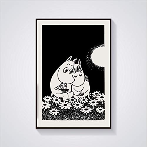Zahuishile Abstrakte Final Fantasy Classic Charaktere Poster Leinwand Kunstdruck Home Decor 40X60Cm ohne Rahmen