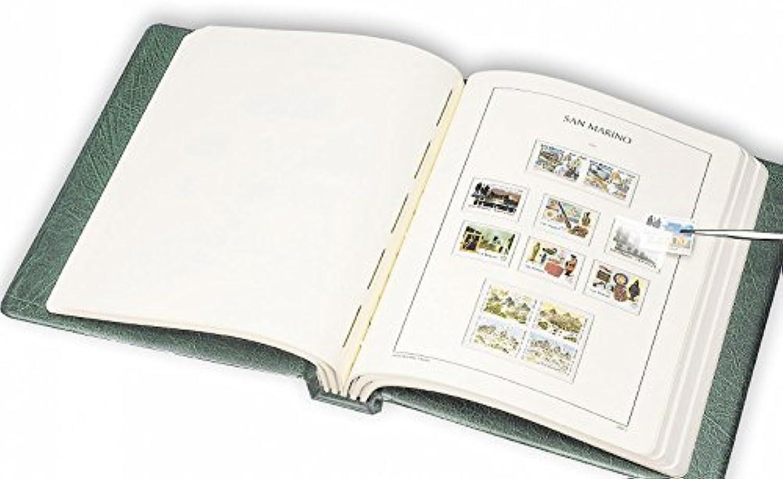 Leuchtturm SF-Vordruckalbum Excellent DE, CL-Design inkl.Schutzkass. Ruland 2010-2014 rot