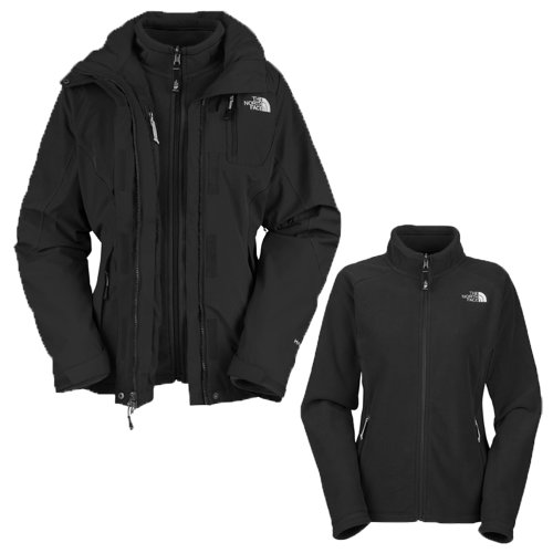 The North Face – Mujer Atlas Triclimate Chaqueta