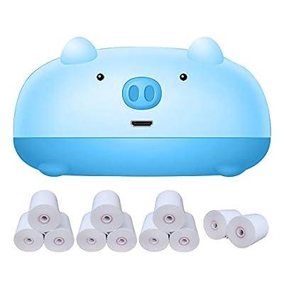 Amazon - Save 80%: Mini Thermal Printer Bluetooth Wireless Label Maker Printer, Thermal P…
