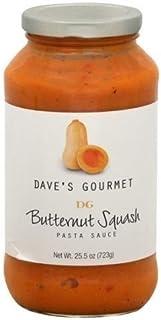 DAVES GOURMET SAUCE PSTA BTTRNUT SQSH, 25.5 OZ