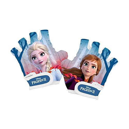 Disney Frozen II - Guantes de Bicicleta para niño - El Secreto de Arendelle Frozen 2 Guantes sin Dedos para niños de 4 a 8 años
