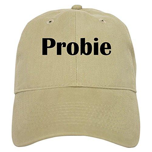 CafePress Probie Baseball Cap with Adjustable Closure, Unique Printed Baseball Hat Khaki