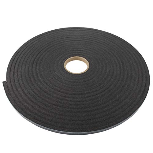 Schaumband einseitig selbstklebend | Dichtband | 9 mm x 5 m | 8 mm Dicke | Anthrazit | Dichtungsband | Fugenband | Schutzklebeband zum Abdichten, Abdämpfen, Puffern etc.