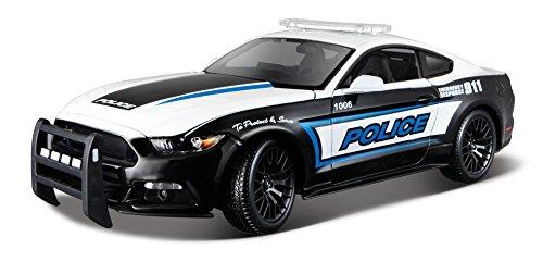 Maisto - Ford Mustang GT Police del año 2015 en Escala 1/18 (36203)