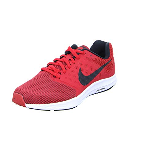 Nike Mens Downshifter 7 University RED Black White Size 14
