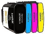 Amaprint 4 XL Cartuchos Compatible con HP 940 940 para HP Officejet Pro 8000 8500 8500A A909A A910A