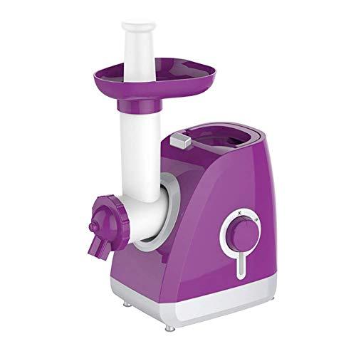 BECCYYLY Free Shreen Dairy Frezen Yoghurt Sorbet Gelato Maker, Helado Maker Electric Home, Máquina de Helado de Frutas Soft Sirvo Suave Púrpura wmpa