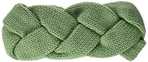 Tom TAILOR dames vlecht-look hoofdband, groen (Light Mint Green 19764), één maat (maat: oversize)
