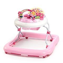 Bright Starts June Berry in hoogte verstelbare wandelhulp met verwijderbaar speelgoed, verlichting, melodieën, volumeregeling, hoge rugleuning, veiligheidsstopper*
