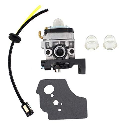 AISEN Vergaser mit Dichtung Benzinschlauch Benzinfilter Primer für Fuxtec FX-4MS315, FX-4MS131 / Makita EBH341U 4-Takt Motorsense