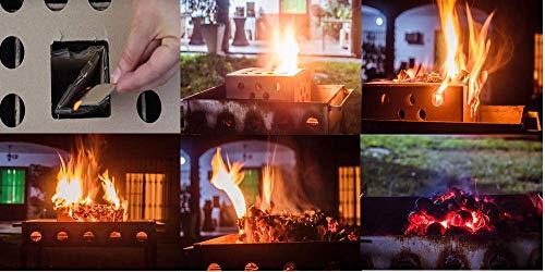 Briquetas de Carbón Vegetal para Barbacoa Ecológico y 100% Natural   Autoencendido Instantáneo sin Papel, Madera…
