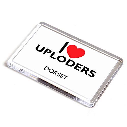 Unbekannt Kühlschrankmagnet – I Love Uploders – Dorset