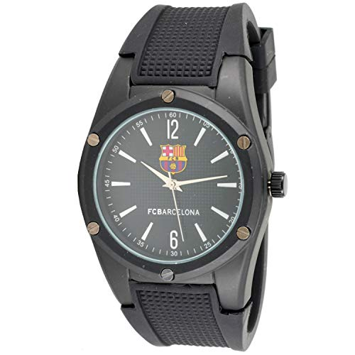 F.C. Barcelona Reloj Analog-Digital para Unisex-Adult de Automatic con Correa en Cloth S2004022