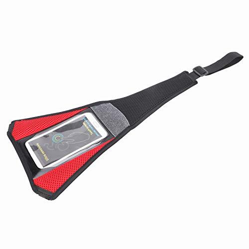 Pwshymi Cubierta para el Sudor con Funda para teléfono Tipo de Pantalla táctil Protector contra el Sudor hermético Net Bike Sweat Absorbs Guard para Bicicleta MTB