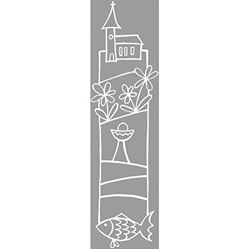 Rayher 2801000, Stempel, Kirche, 4 x 12 cm