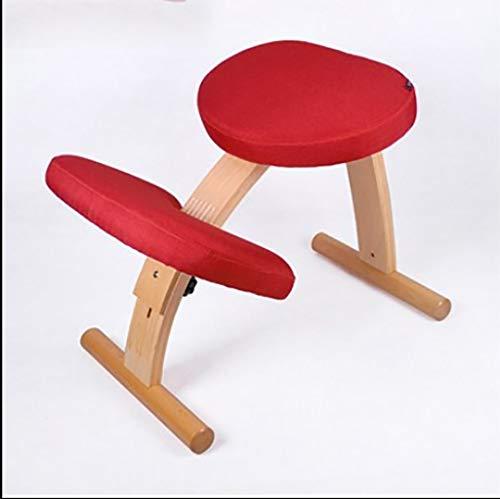 Anhebbarer Korrektur-Kniestuhl, höhenverstellbarer ergonomischer Stuhl, Untersuchungsstuhl gegen Myopie, perfekt zur Linderung von Rücken- und Nackenschmerzen und zur Verbesserung der Körperhaltung