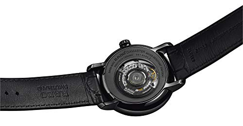 [ラドー]腕時計DiaMaster(ダイヤマスター)HighLine(ハイライン)XLWATCHDIAMASTERBLACKAUTOAutomaticR14060156メンズ正規輸入品ブラック
