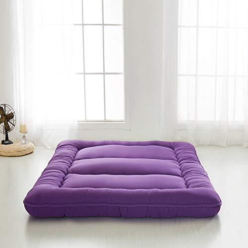 Japanese Floor Mattress Futon Mattress, Thicken Tatami Mat Sleeping Pad Foldable Roll Up Mattress...