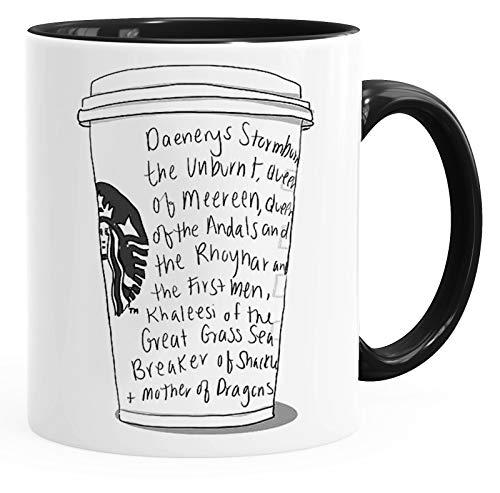 Game of Thrones Inspired \'Khalessi Starbucks Order\' - Fun Keramik Tasse Kaffee Tee Becher –Perfekt Valentines/Ostern/Sommer/Weihnachten/Geburtstag/Jahrestag Geschenk
