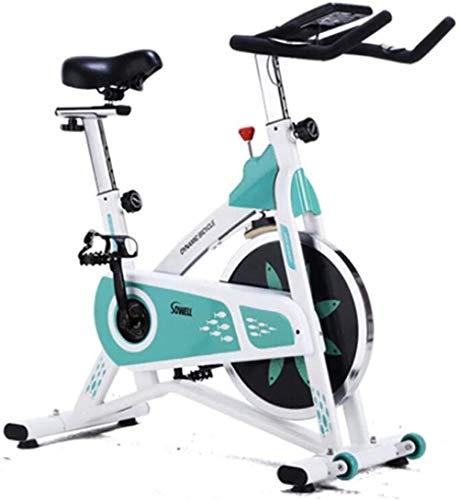 Indoor Fitness Bike Hometrainer voor thuiskantoor met scherm met kilometerstand Snelheidsmeting Hartslag Calorieën verbranden dsfhsfd(Upgrade)