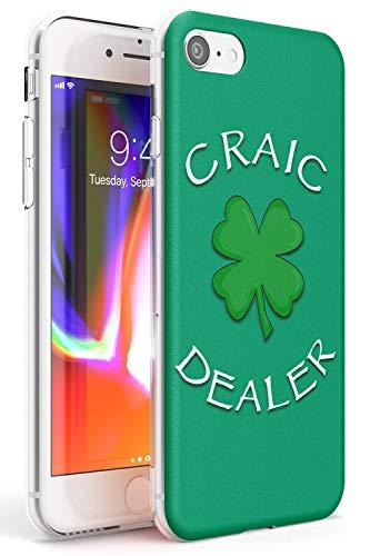 Dealer Craic Irish Slim Cover per iPhone 6 TPU Protettivo Phone Leggero con Mondo Tendenza Divertente Rugby San Patrizio