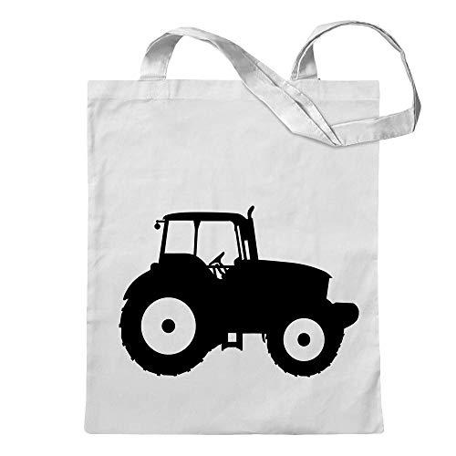 Kiwistar Trattore agricolo borsa di juta Stampa design motivo stampato