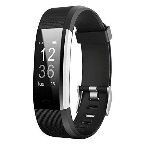 BINGBIAN S5 Reloj inteligente de pulsera con monitoreo del sueño, impermeable Bluetooth Relojes