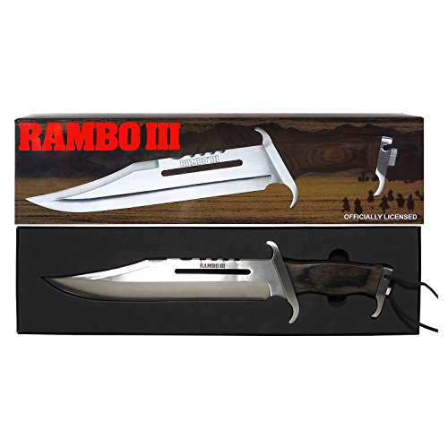 Rambo III Silvester Stallone Messer Officially Licensed #9296