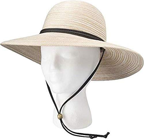 Sloggers 4405ST Braided Sun Hat, Medium, Stone