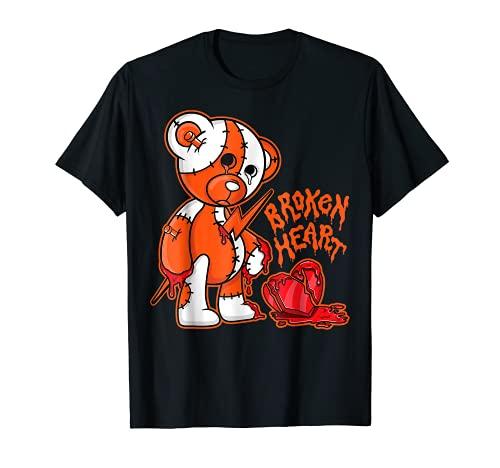 B.H Bear tee match the Jordan 13 Starfish T-Shirt