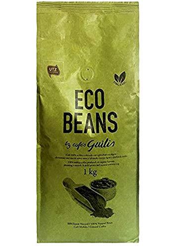 CAFES GUILIS DESDE 1928 AMANTES DEL CAFE - Café Molido de Grano Arábica Orgánico Bio Eco Natural Tueste Artesanal - 1 kg