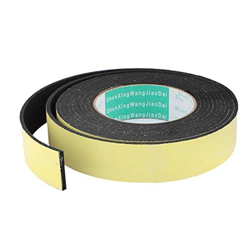 Sourcingmap® 4M 30mm x 3mm Single Side selbstklebende Schaumstoff Dichtungsband für Tür Fenster