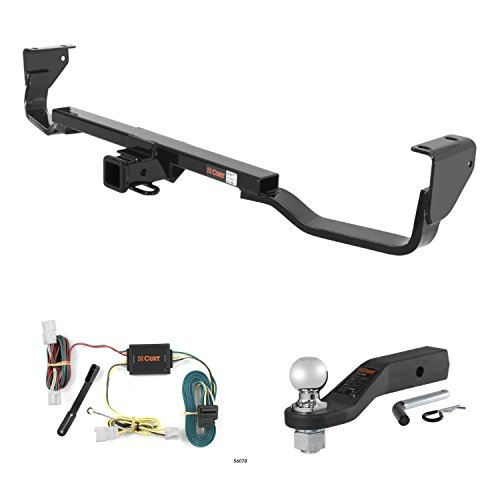 Learn More About CURT Trailer Tow Package w/ 2 5/16 Ball Mount w/ 2 Drop for 07-09 Santa Fe