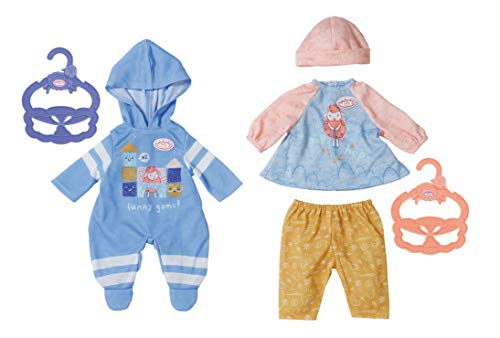 Baby Annabell 703007 Kleines Tagesoutfit 36cm, 2 assorted