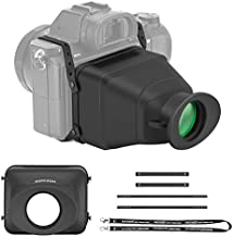 Neewer Universal LCD Optical Camera Viewfinder, 3X Magnification/Fullscreen Sunshade/Elastic Belt Connect/Support 3-3.2 Inches LCD and Vari-Angle LCD Compatible with Canon Nikon Sony and Other DSLRs