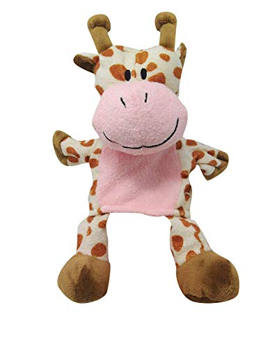 Constructive Playthings CP Toys Forest Friends Plush Hand Puppet (Giraffe)