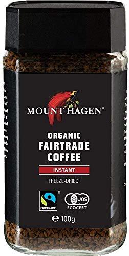 マウントハーゲン オーガニック フェアトレード インスタントコーヒー100g-2 パック