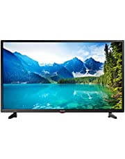 Sharp 1T-C32BB3IE1NB 32 Inch HD Ready LED TV with Freeview HD, 3 x HDMI, SCART, USB Media Player, Black, 32 Inch
