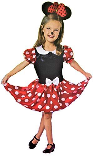 Disfraz de Ratoncita. Incluye solo el vestido. Diadema no incluída. Varias tallas. (Talla 7-9 años)