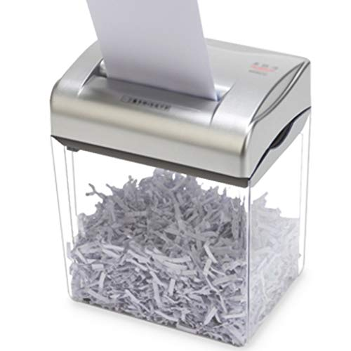 SYHSZY Mini Desktop Distruggidocumenti Professionale Documenti D'ufficio Elettrici Tritadocumenti Ad Alta Potenza Trita Carta Portatile,Piccoli Uffici E Uso Domestico