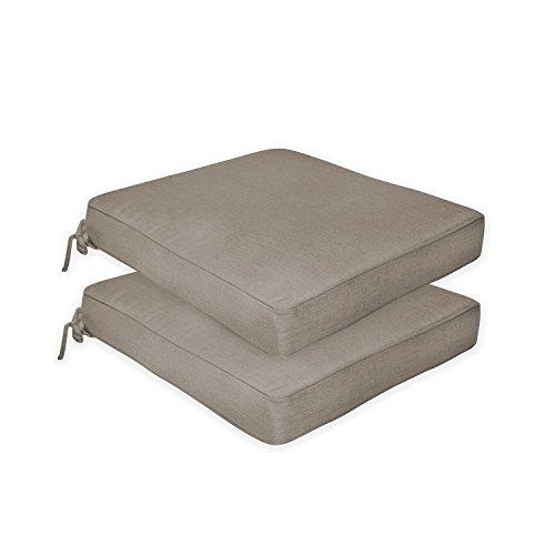 Member's Mark Sunbrella Multi-Purpose Cushion 2 Pack ( color: Cast Shale)