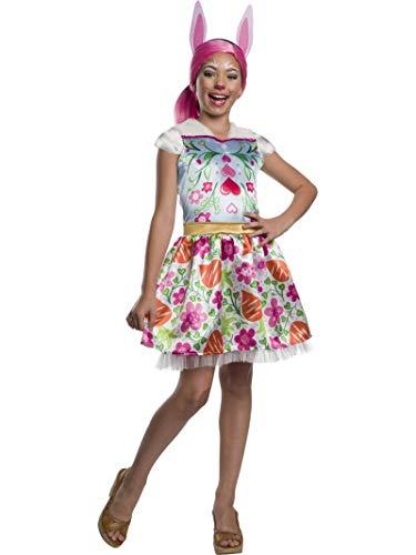 Enchantimals - Disfraz de Bree Bunny para niña, 5-7 años (Rubies 641213-M)