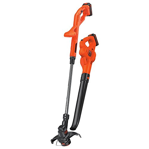 BLACK+DECKER LCC222 20V MAX Lithium String Trimmer/Edger, Sweeper Plus, 10'